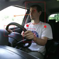 Driver Attention through Head Localization and Pose Estimation
