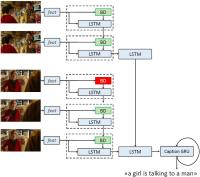 Image and Video Captioning with Transferred Semantic Attributes