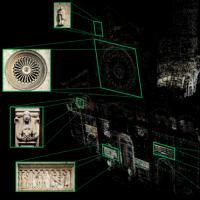 Egocentric Video Registration and Architectural Details Retrieval